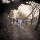1976 Summer Camp The path.  1976 Les grandes vacances Le chemin.  Bernard Faucon / Agence VU