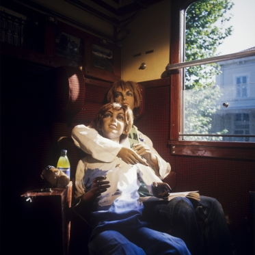 1978Summer CampIn the train.1978Les grandes vacancesDans le train.Bernard Faucon / Agence VU