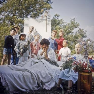 1976Summer CampSelfportrait1976Les grandes vacancesAutoportraitBernard Faucon / Agence VU