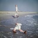 1976Summer CampBlue seafoam.1976Les grandes vacancesBleu d'Ècume.Bernard Faucon / Agence VU