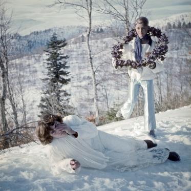 1976Summer CampSnow's story.1976Les grandes vacancesHistoire de neige.Bernard Faucon / Agence VU