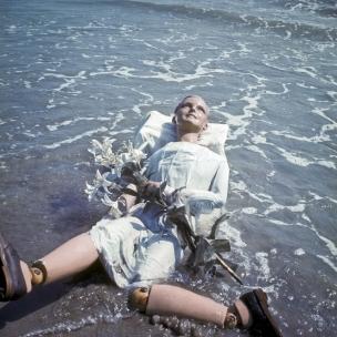 1976Summer CampThe wax mannequin thrown back by the sea.1976Les grandes vacancesLe mannequin rejetÈ par la mer.Bernard Faucon / Agence VU