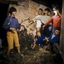 1977Summer CampTrack direction.1977Les grandes vacancesSigne de piste.Bernard Faucon / Agence VU