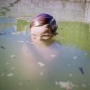 1977Summer CampThe Basin.1977Les grandes vacancesLe Bassin.Bernard Faucon / Agence VU