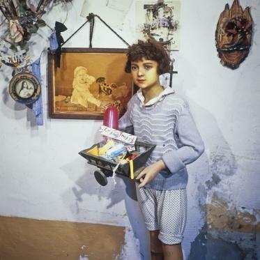 1977Summer CampDummy.1977Les grandes vacancesMannequine.Bernard Faucon / Agence VU