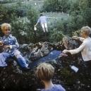 1979Summer CampThe flying child.1979Les grandes vacancesL'enfant qui vole.Bernard Faucon / Agence VU