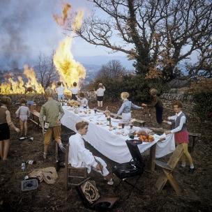 1978Summer CampThe banquet.1978Les grandes vacancesLe banquet.Bernard Faucon / Agence VU