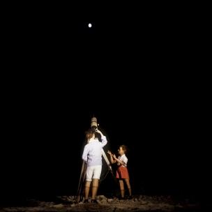 1977Summer CampThe Telescope.1977Les grandes vacancesLe TÈlescope.Bernard Faucon / Agence VU