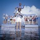 1978Summer CampThe finish.1978Les grandes vacancesL'arrivÈe.Bernard Faucon / Agence VU