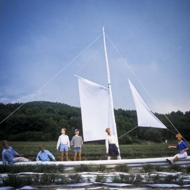1979Summer CampThe boat.1979Les grandes vacancesLe Navire.Bernard Faucon / Agence VU