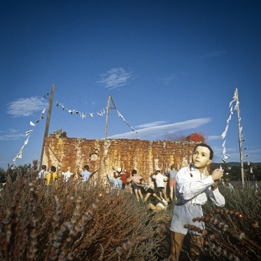 1980Summer Camp14th of July.1980Les grandes vacances14-juillet.Bernard Faucon / Agence VU