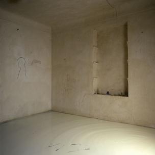 """France, 1985The BedroomsSerie """"The Rooms of Love""""The 7th Bedroom of Love : the mirror of milk.France, 1985Les chambresSÈrie """"Les chambres d'amour""""La SeptiËme Chambre d'amour : le miroir de lait.Bernard Faucon / Agence VU"""