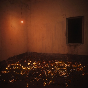 "France, 1985The BedroomsSerie ""The Rooms of Love""The 9th Bedroom of Love : the embers.France, 1985Les chambresSÈrie ""Les chambres d'amour""La NeuviËme Chambre d'amour : les braises.Bernard Faucon / Agence VU"