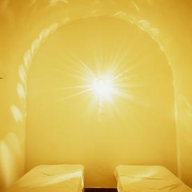 "FranceThe BedroomsSerie ""The Rooms of Love""Bedroom at sea.FranceLes chambresSÈrie ""Les chambres d'amour""Chambre ‡ la merBernard Faucon / Agence VU"