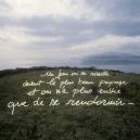 """""""Les Ecritures"""" (Writings), 1991/1992One day you wake in front of the most beautiful landscape, and you just feel like sleeping again.""""Les Ecritures"""", 1991/1992Un jour on se rÈveille devant le plus beau paysage et on n'a plus envie que de rendormir.Bernard Faucon / Agence VU"""