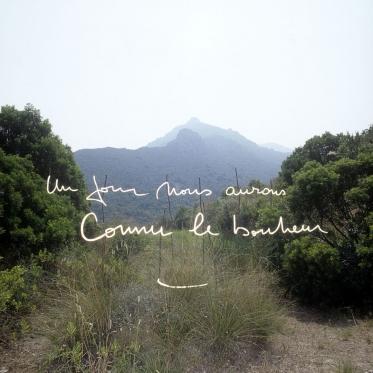 """""""Les Ecritures"""" (Writings), 1991/1992One day we will be acquainted with happiness.""""Les Ecritures"""", 1991/1992Un jour nous aurons connu le bonheur.Bernard Faucon / Agence VU"""