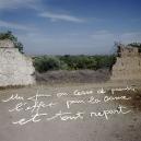"""""""Les Ecritures"""" (Writings), 1991/1992One day you stop thinking the effect is the origin and you go on again.""""Les Ecritures"""", 1991/1992Un jour on cesse de prendre l'effet pour la cause et tout repart.Bernard Faucon / Agence VU"""