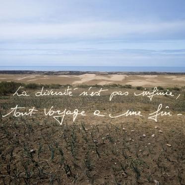 """""""Les Ecritures"""" (Writings), 1991/1992Diversity isn't infinite, every travel ends.""""Les Ecritures"""", 1991/1992La diversitÈ n'est pas infinie, tout voyage a une fin.Bernard Faucon / Agence VU"""