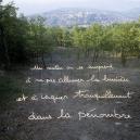 """Les Ecritures"" (Writings), 1991/1992One morning you creep up yourself not switching the light on and going calmly about darkness.""Les Ecritures"", 1991/1992Un matin on se surprend ‡ ne pas allumer la lumiËre et ‡ vaquer tranquillement dans la pÈnombre.Bernard Faucon / Agence VU"