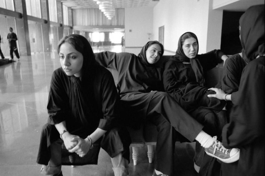 "Iran, Tehran, July 2000 - Tehran's Opera House ""Talagh e Vahdat"" Antigone rehearsal."