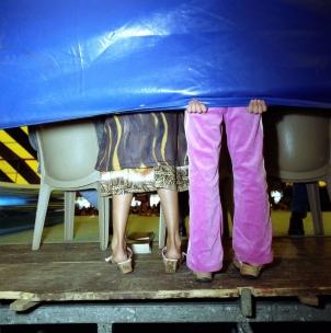 France, Paris suburb, 2000GypsiesFrance, RÈgion parisienne, 2000Les gitans©†Franck Ferville / Agence VU