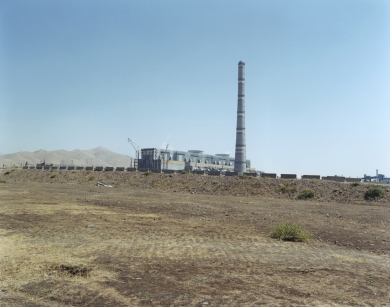 © RIP HOPKINS / AGENCE VUHOME AND AWAYOUZBEKISTAN, 200216/08/02Nurobod's Coal Power Station making power for the mining town of Angren, 60 kilometres east of Tashkent.N°10650