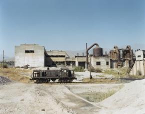 © RIP HOPKINS / AGENCE VUHOME AND AWAYOUZBEKISTAN, 200216/08/02Cement factory in the mining town of Angren, 60 kilometres east of Tashkent.N°10650