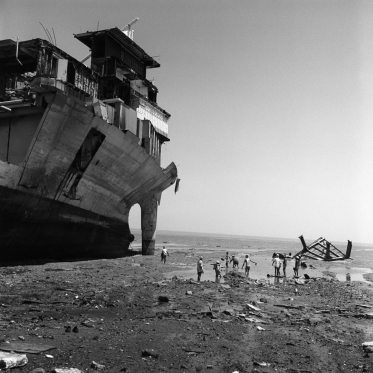 Chantier de démolition de navires