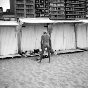 Belgium, Blankenberg, 2004Belgium people's holidays.Privacy.Belgique, Blankenberg, 2004Les vacances des Belges.IntimitÈ.© Franck Ferville / Agence VU