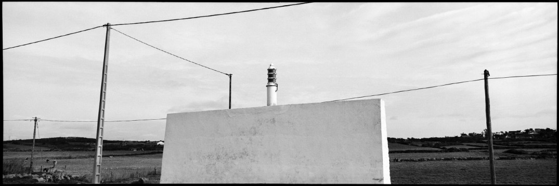 France, Normandie, Cotentin, November 1992 - Blaze and wall.