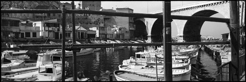France, Marseille, February 1993 - Little port, le Vallon des Auffes
