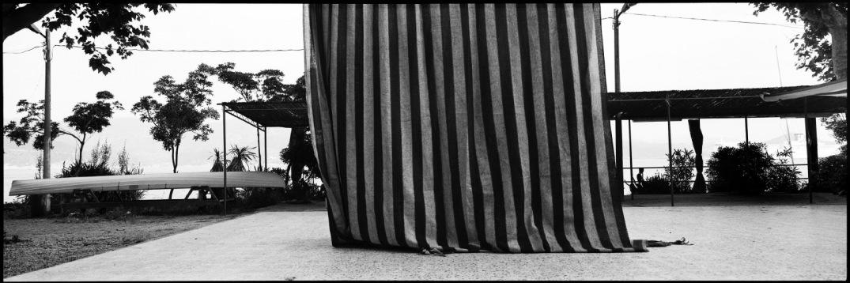 Italy, Elbe ISland, May 1993 - Curtain.