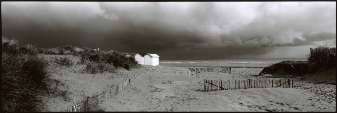 France, Normandy, March 1994 - The storm.