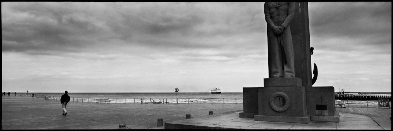 Belgium, Ostende, May 1990 - Walk in Ostende.