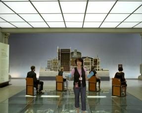 """Orsay Museum, 2006Jackie Thuin, reception and surveillance officer, with the museum since 1998.Favorite work of art : """"Dans un cafÈ"""", also known as """"L'absinthe"""" by Edgar DegasMusÈe d'Orsay, 2006Jackie Thuin, agent d'accueil et de surveillance, au musÈe depuis 1998.Oeuvre prÈfÈrÈe : """"Dans un cafÈ"""", dit aussi """"L'absinthe"""" d'Edgar Degas  © Rip Hopkins / Agence VU"""
