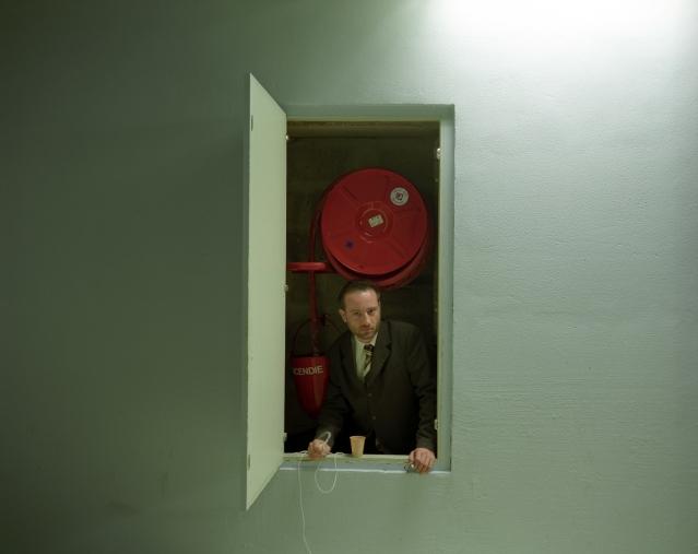 """Orsay Museum, 2006Jean Michel CarrÈ, head of the development department, with the museum since 1997.Favorite work of art : """"Les Raboteurs de Parquet"""" by Gustave CaillebotteMusÈe d'Orsay, 2006Jean Michel CarrÈ, responsable du secteur dÈveloppement, au musÈe depuis 1997.Oeuvre prÈfÈrÈe : """"Les Raboteurs de Parquet"""" de Gustave Caillebotte  © Rip Hopkins / Agence VU"""