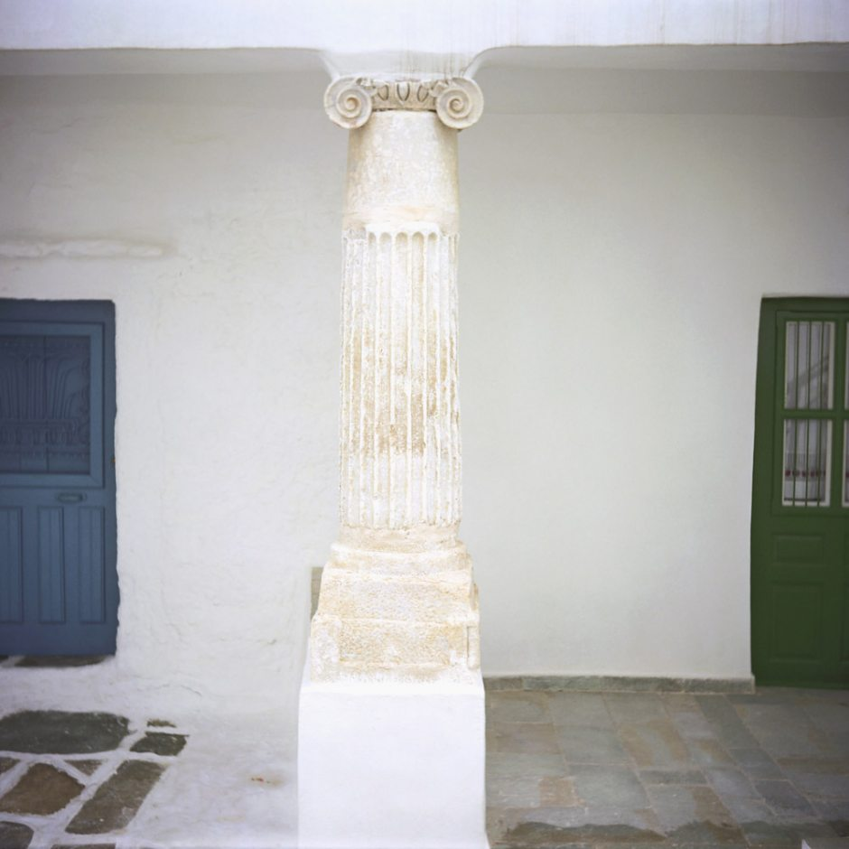 """Greece, Cyclades, 2007 - """"Of sand and wind"""" Serifnos island, Sifnos island, and Milos island."""