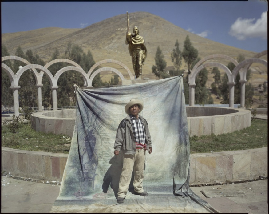 "Peru, Plaza de Armas of Llusco, 2009 - From the book ""Peru"" of Martin Chambi and Juan Manuel Castro Prieto. Roger Tapia Gómez."