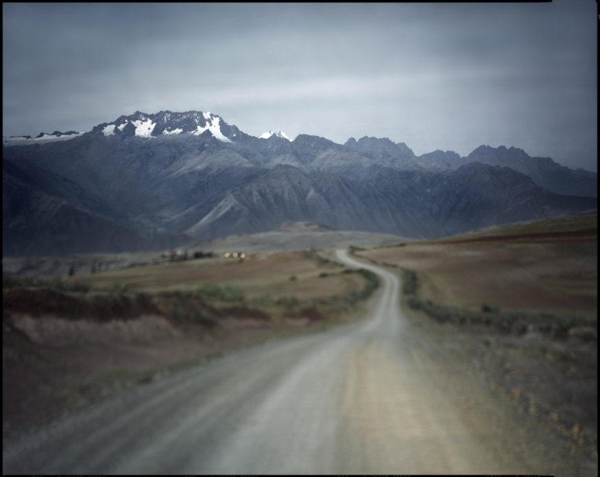 "Peru, Cuzco, 2009 - From the book ""Peru"" of Martin Chambi and Juan Manuel Castro Prieto. Maras road."