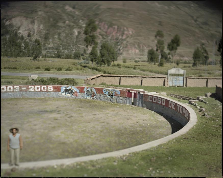 "Peru, Checacupe, 2009 - From the book ""Peru"" of Martin Chambi and Juan Manuel Castro Prieto. Bullring."
