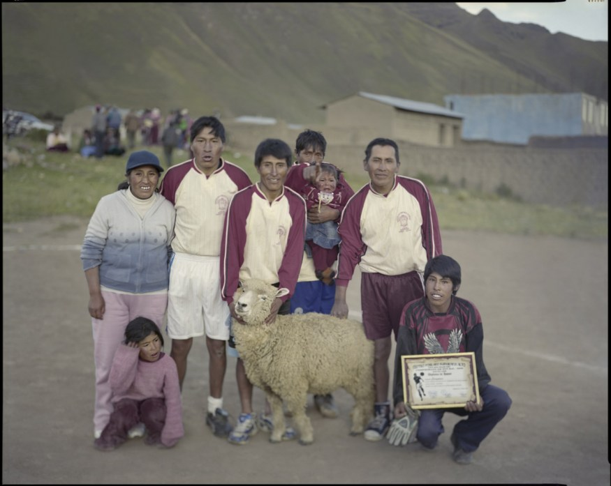 "Peru, Kuturana Alto, 2009 - From the book ""Peru"" of Martin Chambi and Juan Manuel Castro Prieto. Awards presentation."