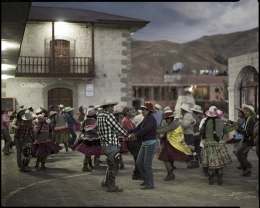 "Peru, Chumbivilcas, 2009 - From the book ""Peru"" of Martin Chambi and Juan Manuel Castro Prieto. Dance in Santo Tomás."
