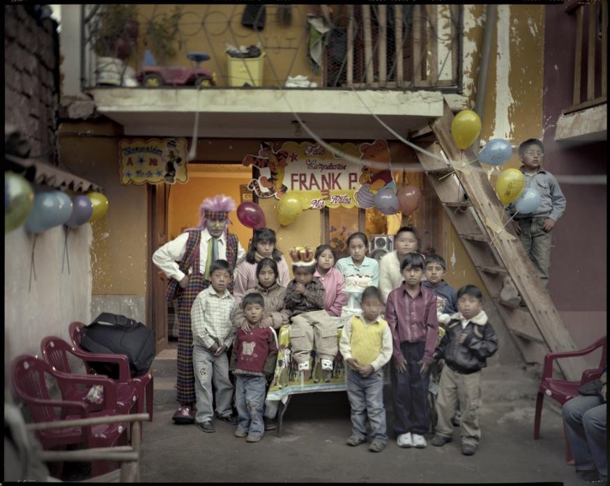 "Peru, San Sebastián, Cuzco, 2009 - From the book ""Peru"" of Martin Chambi and Juan Manuel Castro Prieto. The birthday of Frank Pedro."