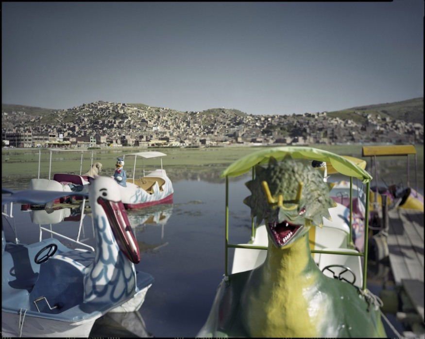 "Peru, Puno, 2009 - From the book ""Peru"" of Martin Chambi and Juan Manuel Castro Prieto. Lake Titicaca."