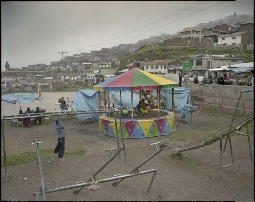"Peru, Cuzco, 2009 - From the book ""Peru"" of Martin Chambi and Juan Manuel Castro Prieto. Entrance to Cuzco."
