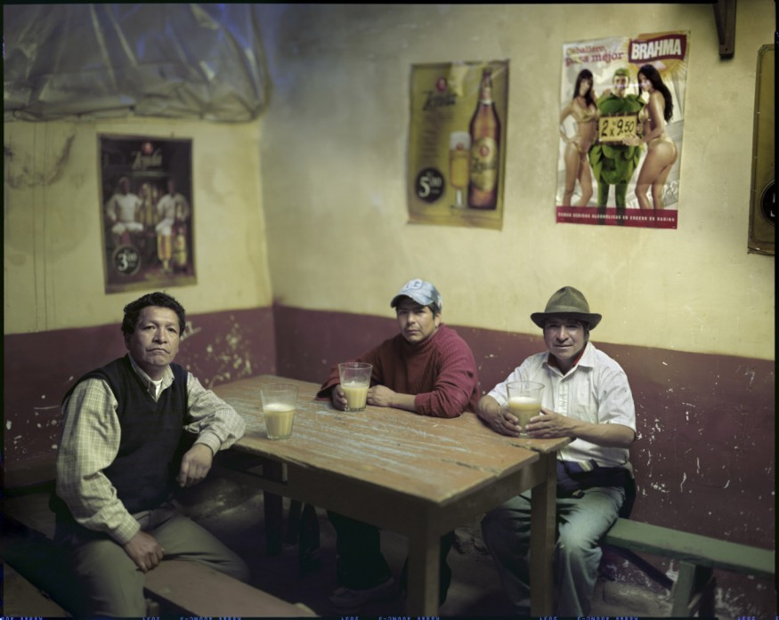 "Peru, Cuzco, 2009 - From the book ""Peru"" of Martin Chambi and Juan Manuel Castro Prieto. Mario, Wylie, Silvestre, picantería Los Juanes."