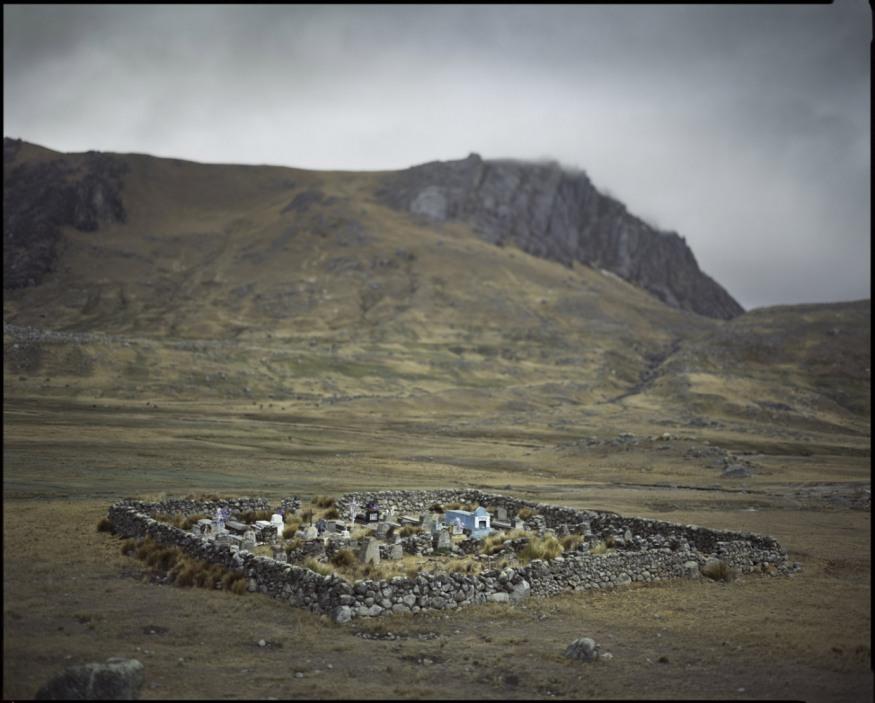 """Peru, towards Coaza, 2009 - From the book """"Peru"""" of Martin Chambi and Juan Manuel Castro Prieto. Cemetery."""