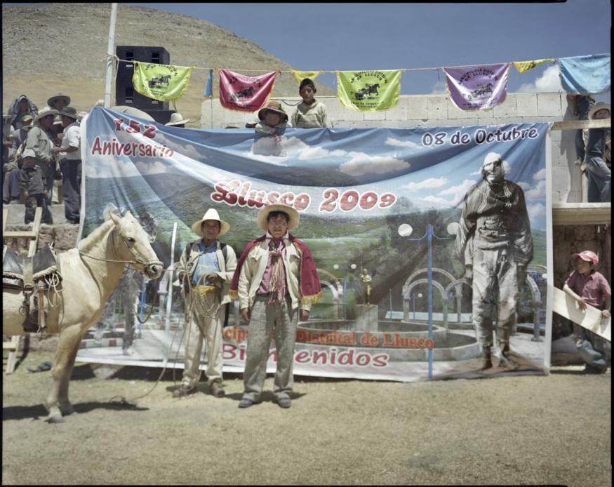 "Peru, Chumbivilcas, 2009 - From the book ""Peru"" of Martin Chambi and Juan Manuel Castro Prieto. Authorities of Llusco."