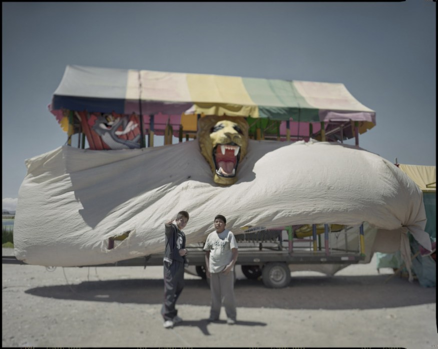 """Peru, Puno, 2009 - From the book """"Peru"""" of Martin Chambi and Juan Manuel Castro Prieto. Fair attraction."""