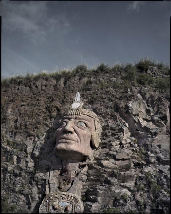 "Peru, Chucuito , Puno, 2009 - From the book ""Peru"" of Martin Chambi and Juan Manuel Castro Prieto. Inka Pachacuteq."